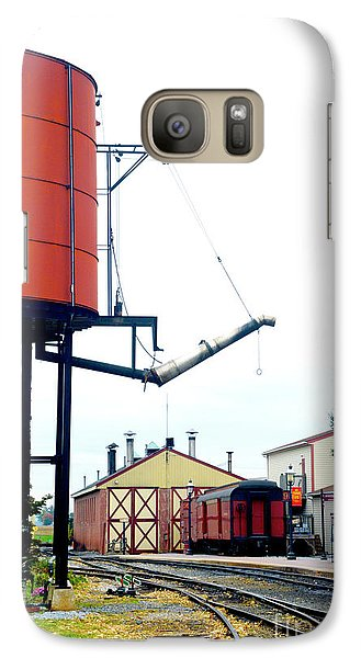 Galaxy Case featuring the photograph The Water Tower by Paul W Faust - Impressions of Light