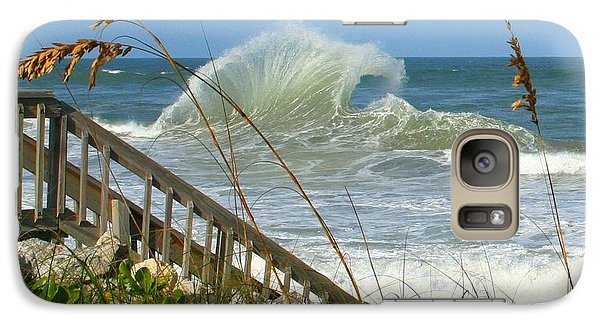Galaxy Case featuring the photograph The Wave by Denise Moore