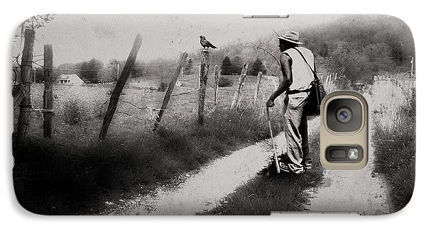 Galaxy Case featuring the photograph The Way Of The Crow by Gray  Artus