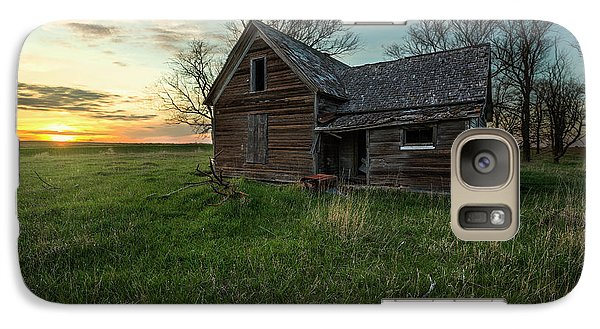 Galaxy Case featuring the photograph The Way She Goes by Aaron J Groen