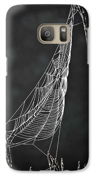 Galaxy Case featuring the photograph The Web by Tom Cameron