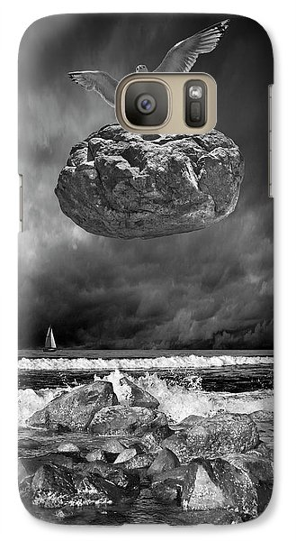 Galaxy Case featuring the photograph The Weight Is Lifted by Randall Nyhof