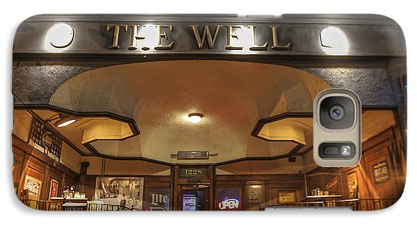 Galaxy Case featuring the photograph The Well by Nicholas Grunas