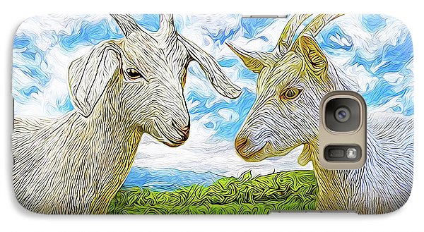 The Whispers Of Goats Galaxy S7 Case by Joel Bruce Wallach