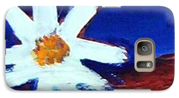 The White Flower Galaxy S7 Case