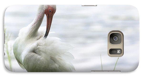 The White Ibis  Galaxy Case by Saija  Lehtonen