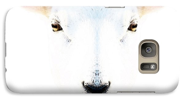 The White Sheep By Sharon Cummings Galaxy S7 Case