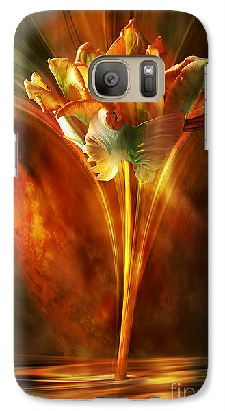Galaxy Case featuring the digital art The Wild And Beautiful by Johnny Hildingsson