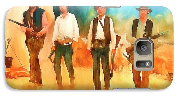 Galaxy Case featuring the painting The Wild Bunch by Michael Cleere