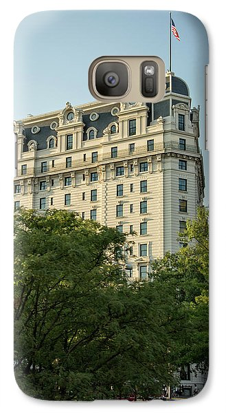 Galaxy Case featuring the photograph The Willard Hotel by Chrystal Mimbs