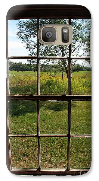 Galaxy Case featuring the photograph The Window 2 by Joanne Coyle