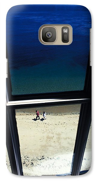 Galaxy Case featuring the photograph The Window by Carl Purcell
