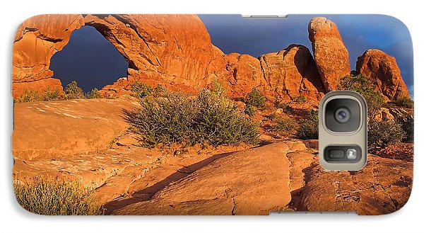 Galaxy Case featuring the photograph The Window by Steve Stuller