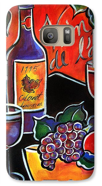 The Wine Of Love Galaxy S7 Case