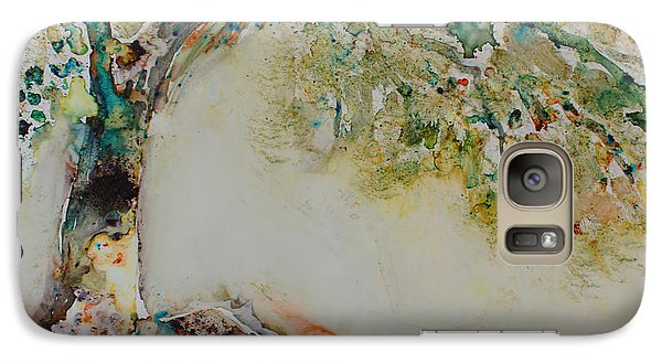 Galaxy Case featuring the painting The Wisdom Tree by Joanne Smoley