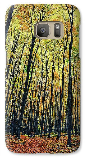 Galaxy S7 Case featuring the photograph The Woods In The North by Michelle Calkins
