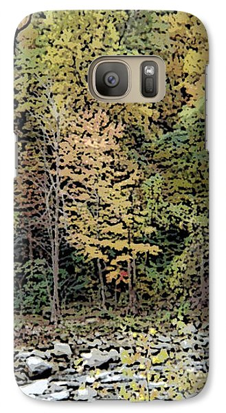 Galaxy Case featuring the photograph The Woods by Skyler Tipton