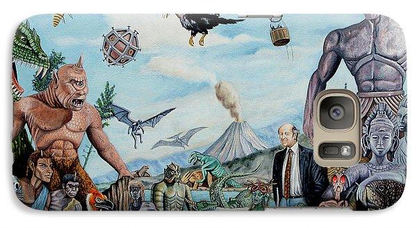 The World Of Ray Harryhausen Galaxy S7 Case by Tony Banos