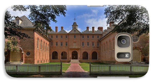 Galaxy Case featuring the photograph The Wren Building At William And Mary by Jerry Gammon