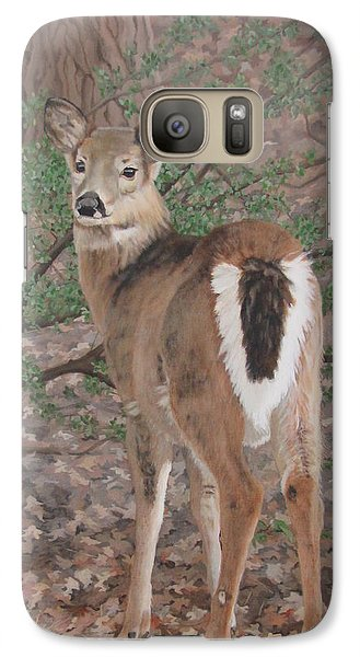 Galaxy Case featuring the painting The Yearling by Sandra Chase
