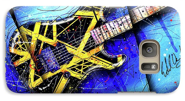 The Yellow Jacket_cropped Galaxy Case by Gary Bodnar
