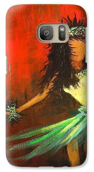 Galaxy Case featuring the painting The Young Dancer by Dan Whittemore