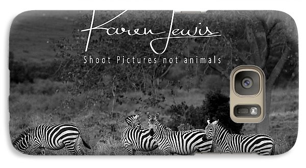 Galaxy Case featuring the photograph The Zebra Tree by Karen Lewis
