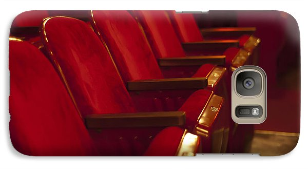 Galaxy Case featuring the photograph Theater Seating by Carolyn Marshall