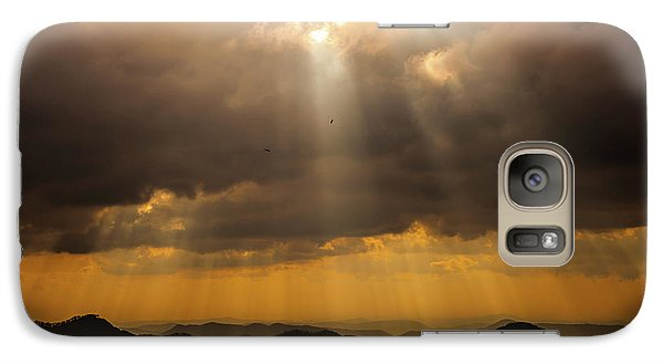 Galaxy Case featuring the photograph Then Sings My Soul by Karen Wiles