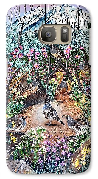 Galaxy Case featuring the painting There's One In Every Crowd by Jennifer Lake