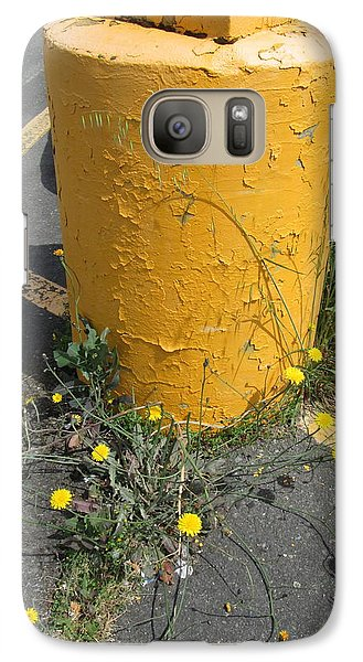 Galaxy Case featuring the photograph They Are Still        Here by Marie Neder