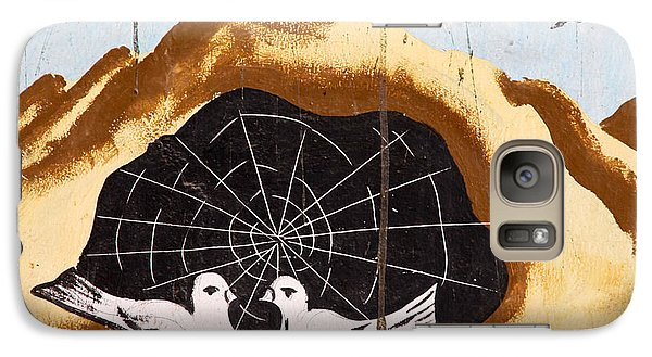 Galaxy Case featuring the photograph They Spun A Web For Us by Jez C Self