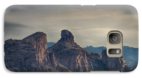 Galaxy Case featuring the photograph Thimble Peak Sunrise by Dan McManus