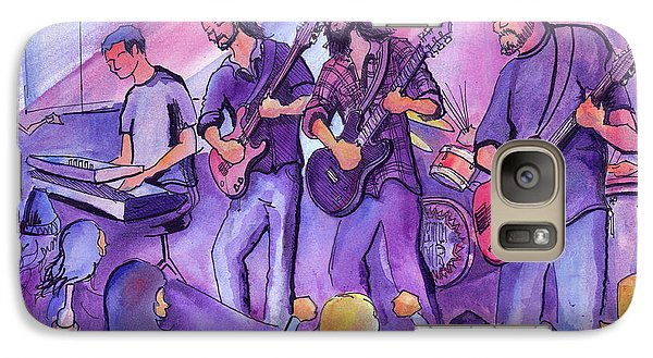 Galaxy Case featuring the painting Thin Air At The Barkley Ballroom In Frisco, Colorado by David Sockrider