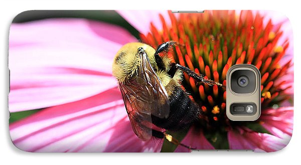 Galaxy Case featuring the photograph Think Bees by Paula Guttilla