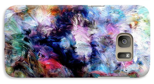 Galaxy Case featuring the painting Third Bardo by Dominic Piperata