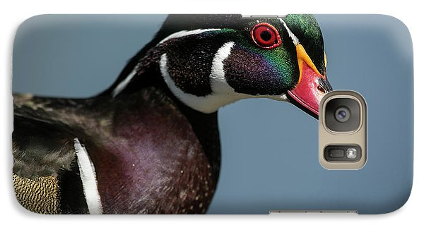 Galaxy Case featuring the photograph This Is My Good Side by Elvira Butler