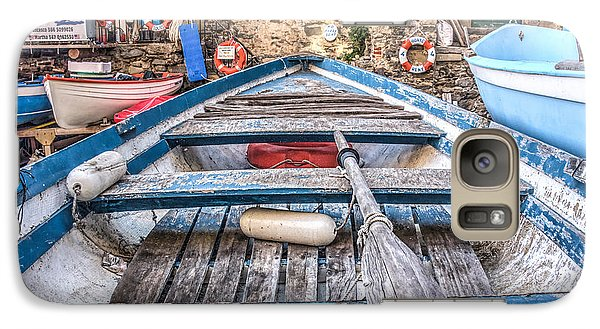 Galaxy Case featuring the photograph This Old Boat by Brent Durken