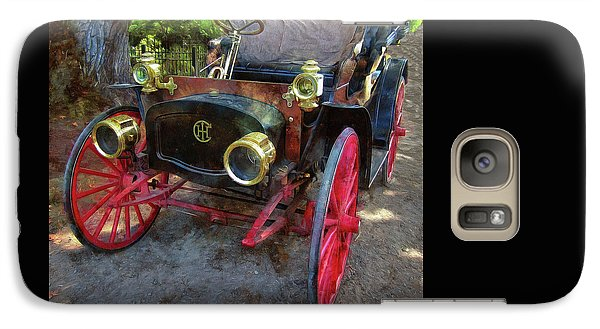 Galaxy Case featuring the photograph This Old Car by Thom Zehrfeld