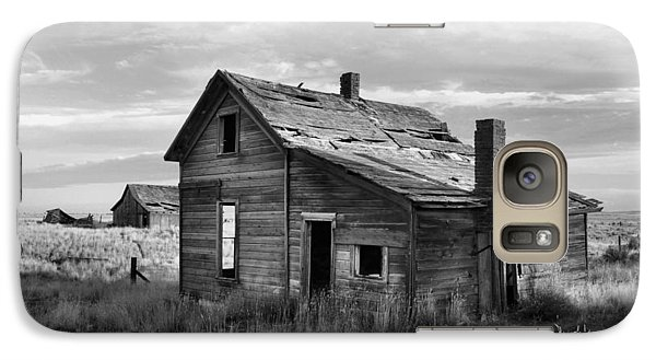 Galaxy Case featuring the photograph This Old House by Jim Walls PhotoArtist