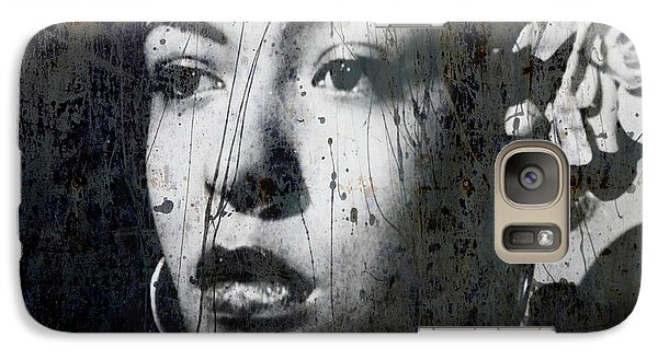 Galaxy Case featuring the mixed media This Ole Devil Called Love  by Paul Lovering