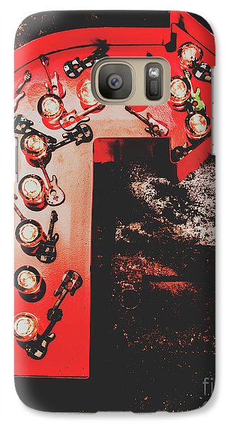 Rock And Roll Galaxy S7 Case - This Way To Rock City by Jorgo Photography - Wall Art Gallery