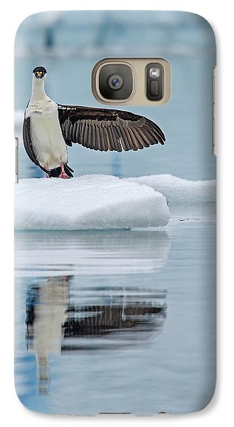 Galaxy Case featuring the photograph This Way by Tony Beck