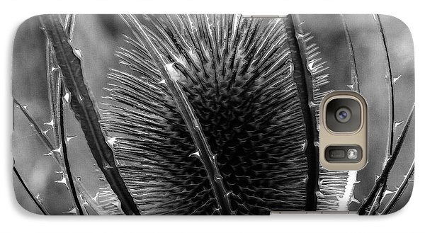 Galaxy Case featuring the photograph Thistle by Keith Elliott