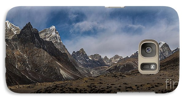 Galaxy Case featuring the photograph Thokla Pass Nepal by Mike Reid