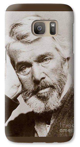 Galaxy Case featuring the photograph Thomas Carlyle by Pg Reproductions