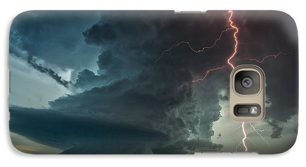 Galaxy Case featuring the photograph Thor Speaks by James Menzies