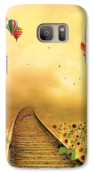 Galaxy Case featuring the photograph Those Infernal Flying Machines by Diane Schuster