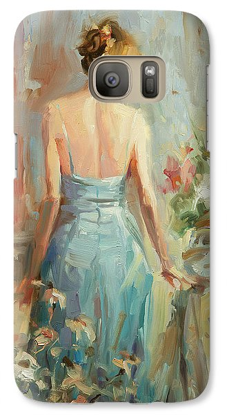 Impressionism Galaxy S7 Case - Thoughtful by Steve Henderson