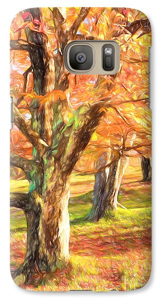 Galaxy Case featuring the painting Three Amigos IIi by Dan Carmichael